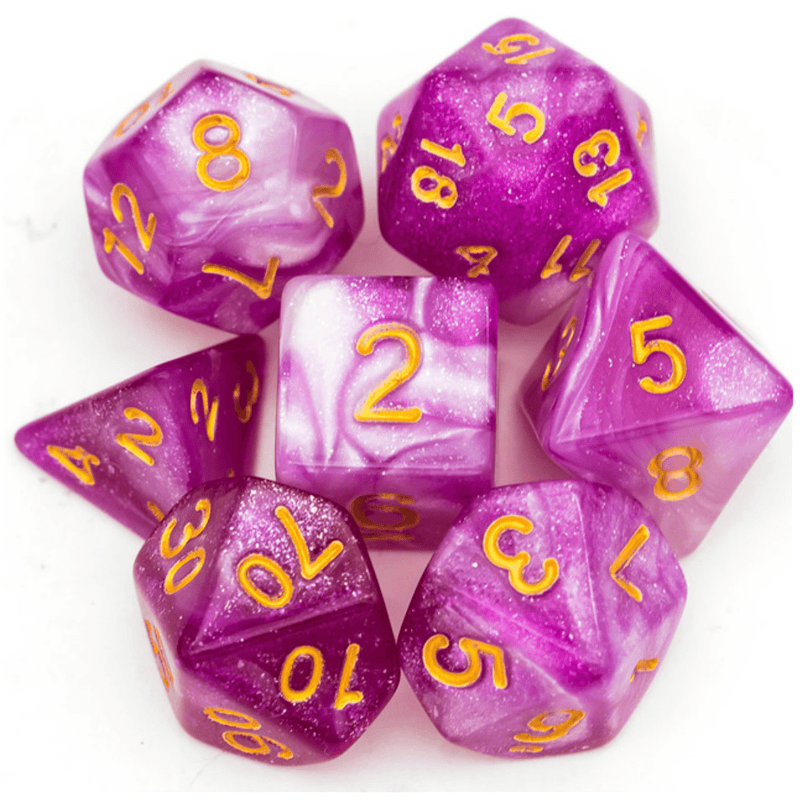 Velvetine RPG Dice Set