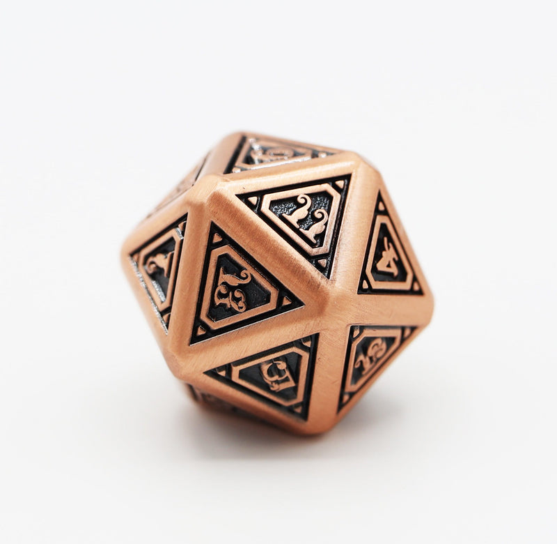 Alchemist Metals RPG Dice Set: Copper