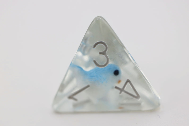 Blue Bird RPG Dice Set