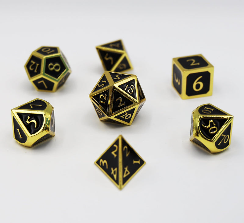 Gold Embossed Onyx RPG Set