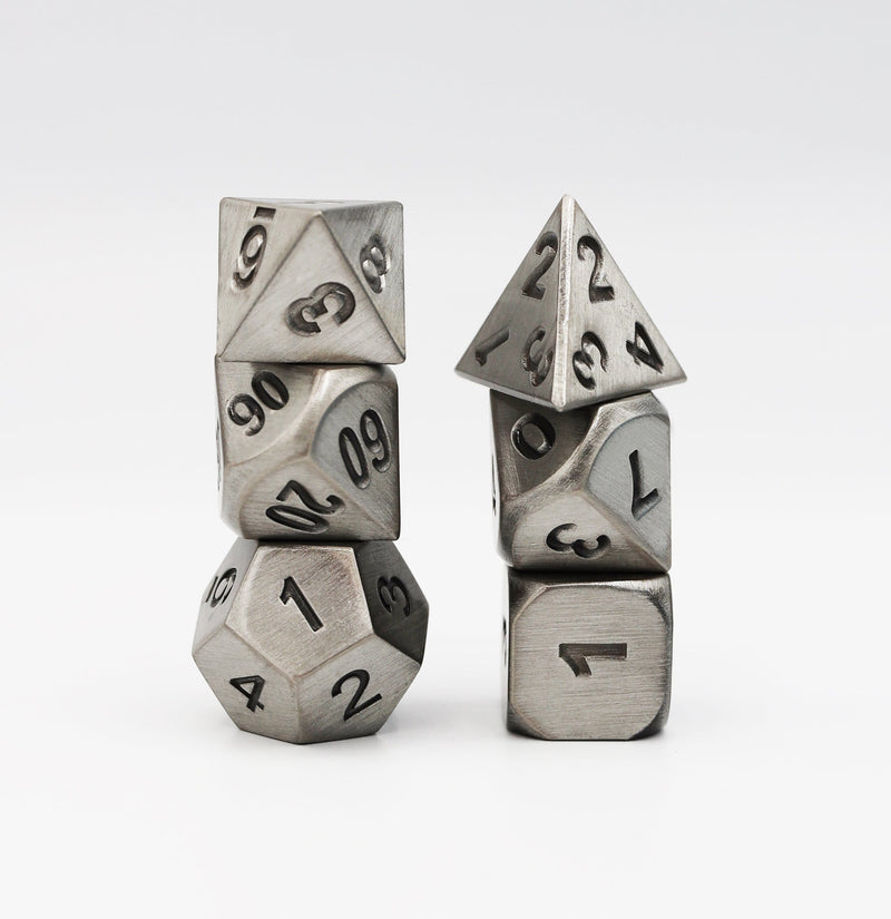 Cold Iron RPG Dice Set