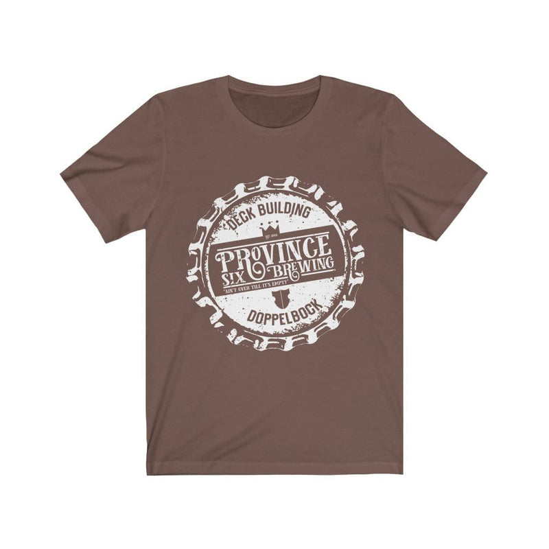Deck Building Beer Tee Shirt