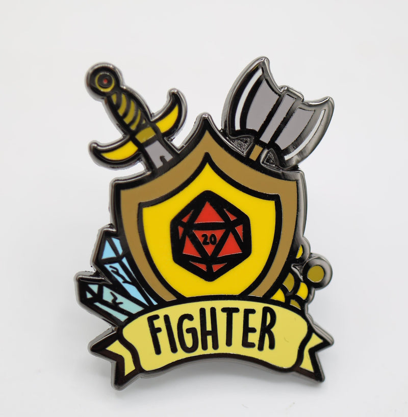 Banner Class Pins: Fighter