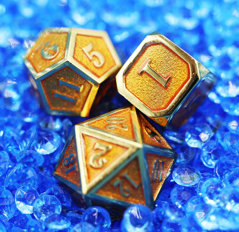 Gold Embossed Sunstone RPG Set