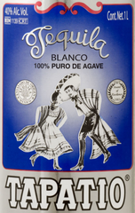 Tapatio Tequila Label