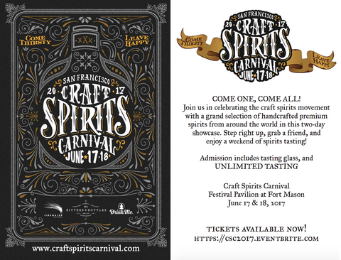 Craft Spirits Carnival Discount Tickets