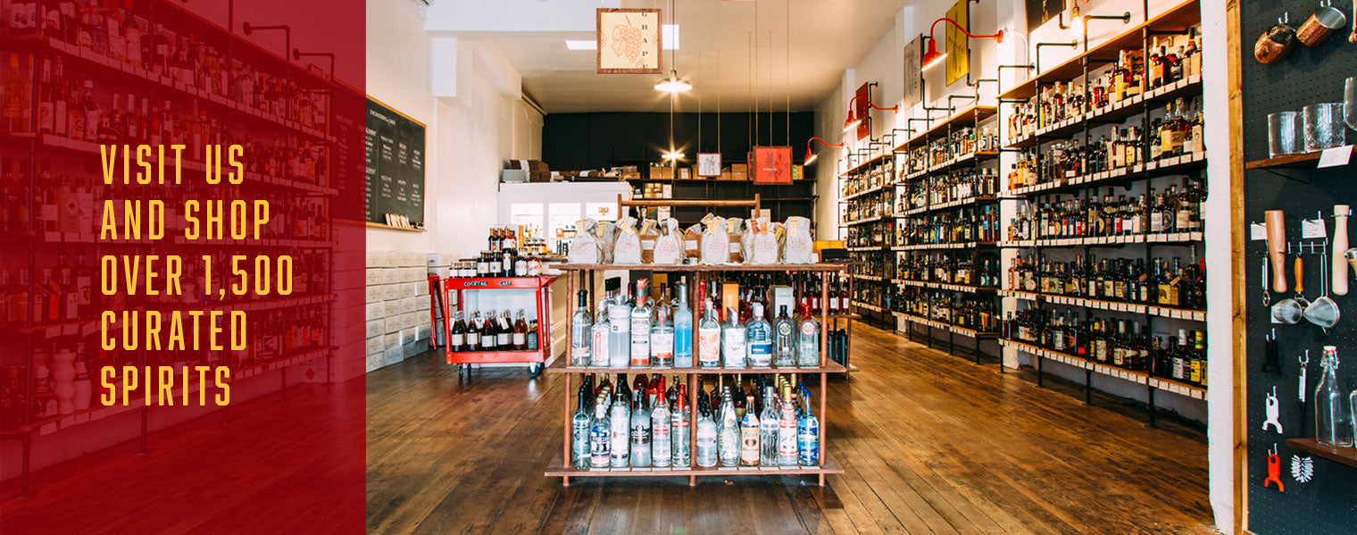 Visit Us and Shop Over 1,500 Curated Spirits