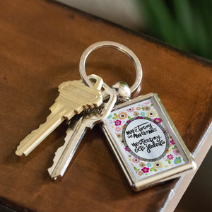 Funny keychain quotes Metal Personal Gift Key chain - ${shop-name