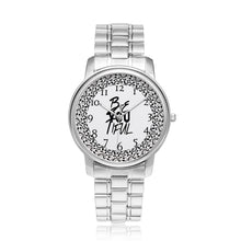 Load image into Gallery viewer, Custom Design Beautiful women's silver watches