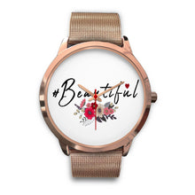 Load image into Gallery viewer, #Beautiful Floral Custom Designed Women's Watch - sea-gull