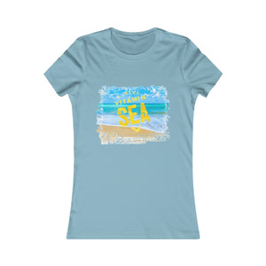 I Need Vitamin Sea Crew Neck Women's funny quotes t-shirts online - ${shop-name