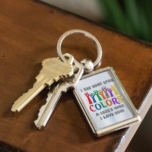 True Colors Keychain Autism Awareness and Support - ${shop-name