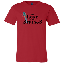 Lord of the Strings Men's Canvas T-Shirt Music Guitar Lovers - ${shop-name