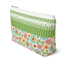 Load image into Gallery viewer, Cosmetic pouch organizer with T-bottom perfect gift for her