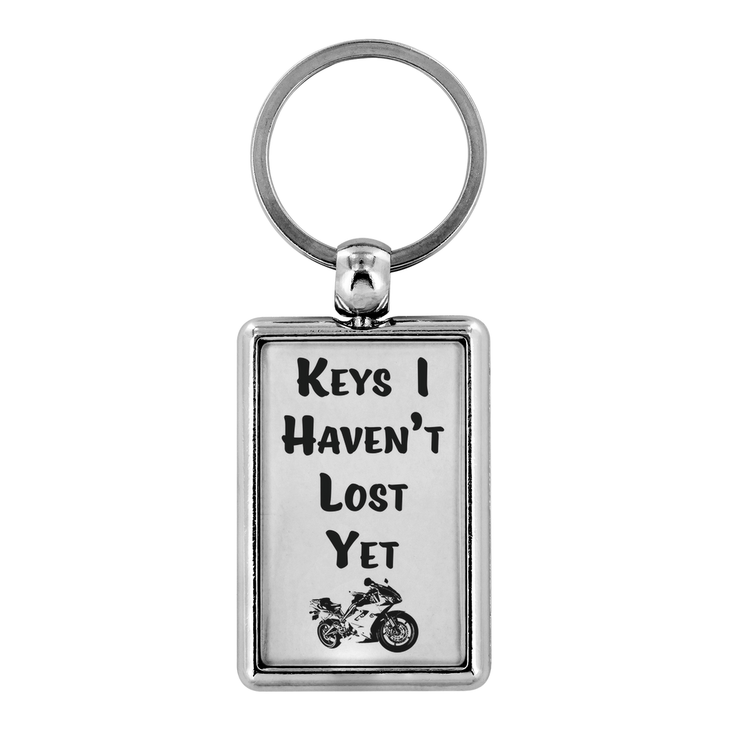 Keys I Haven't lost Yet gift for him and her funny quote keychain - ${shop-name