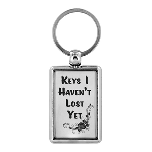 Keys I Haven't lost Yet | Keychain Humor Funny Quote To Brighten your day - ${shop-name