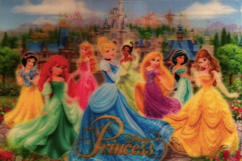 Disney Princesses Postcard