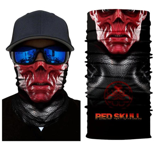 Red Skull Unisex Head bandana