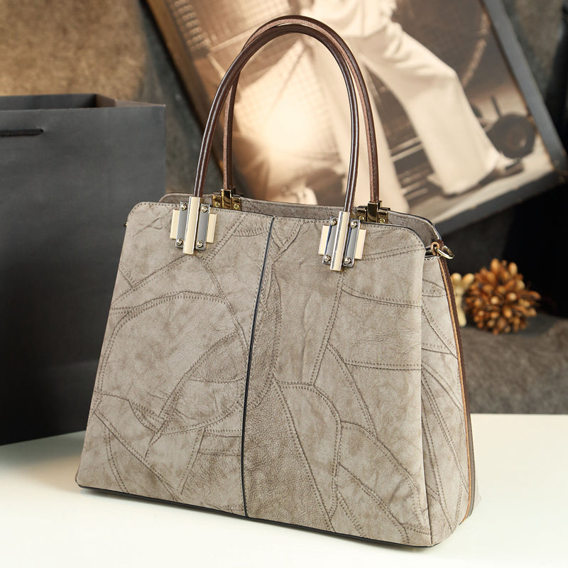 Women's bag shoulder slung handbag leather handbag
