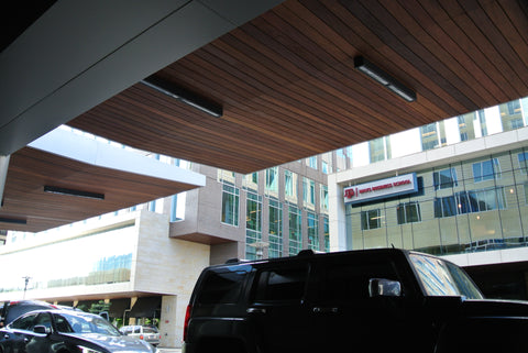 Cumaru Vanish Rainscreen soffits