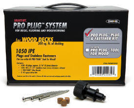 "Pro Plug #8 2-1/2"" Screws with Plugs"