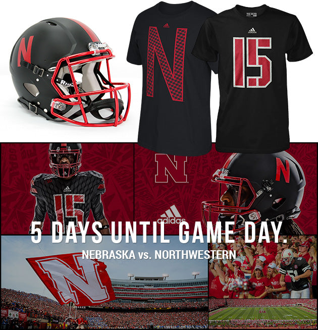 2015 Nebraska Football Alternate Jerseys