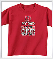 Cheer Loud Nebraska Tee