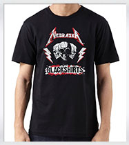 Metallica Style Blackshirt Men's T-Shirt