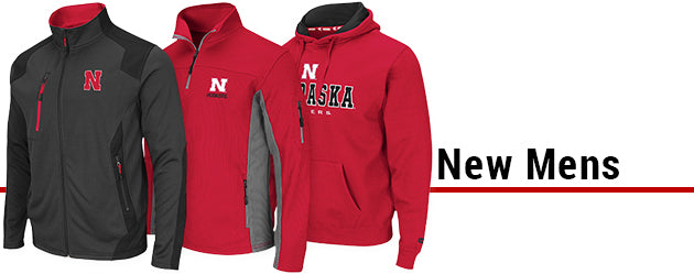 Huskers Mens New Arrivals
