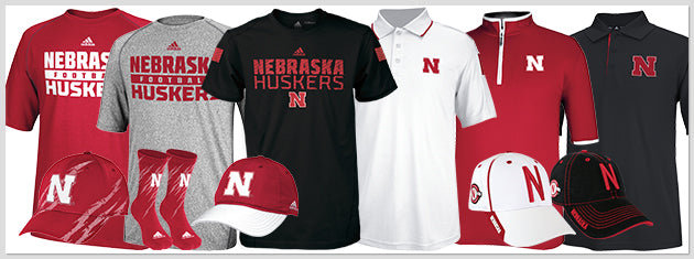Nebraska Huskers Official Coaches and Players Gear