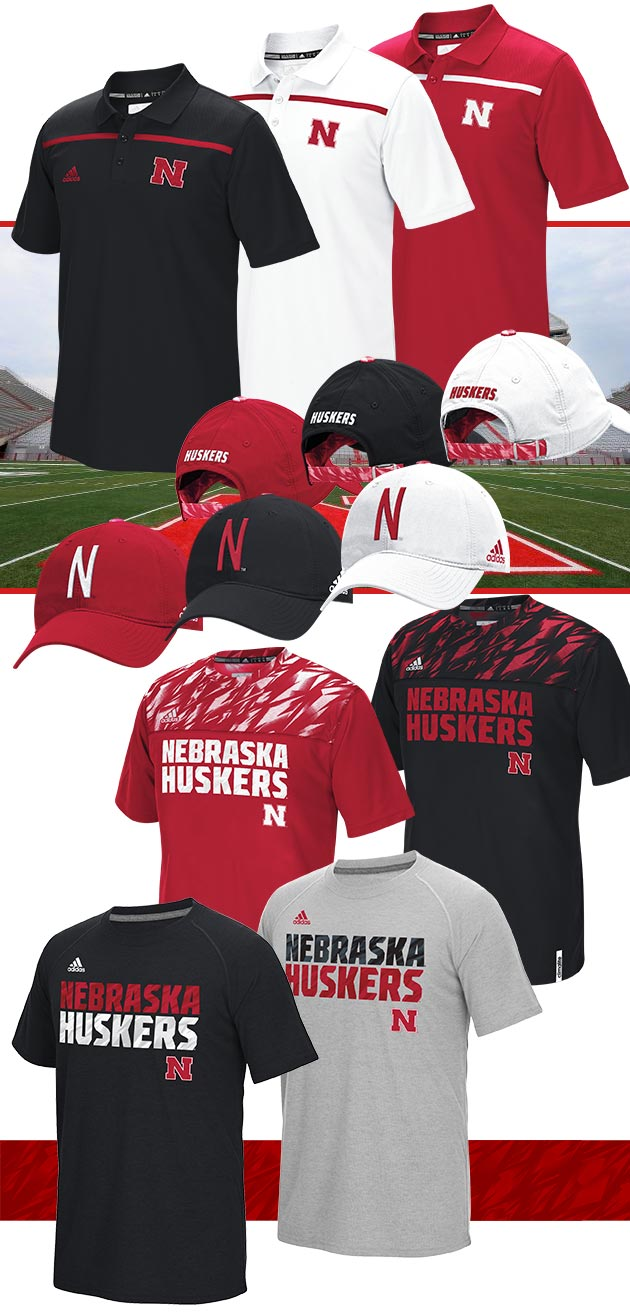 2015 Nebraska Football Sideline Apaprel