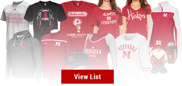 2015 Nebraska Huskers Top Sellers