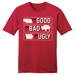 Nebraska Football The Good Bad Ugly Iowa Colorado Shirt