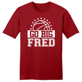 Men's Go Big Fred Basketball T-Shirt