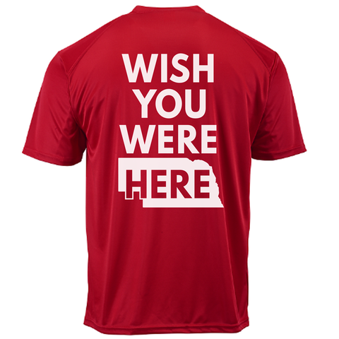 Men's Nebraska Game Day Performance Tee Back