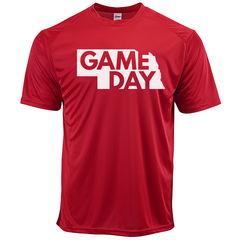 Men's Nebraska Game Day Performance Tee