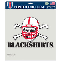 "Nebraska Blackshirts 8""X8"" Decal"