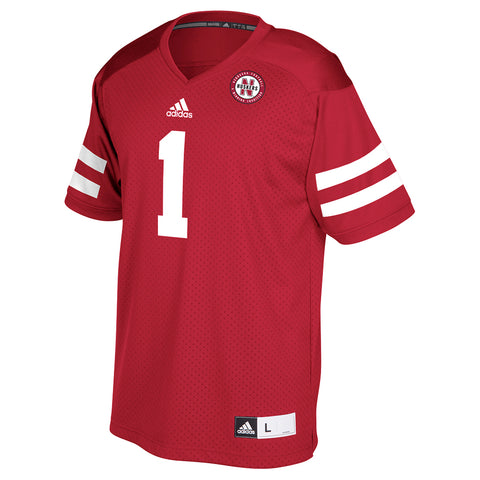 Men's Replicia #1 Jersey by Adidas-SS-Red