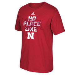 No Place Like Nebraska Huskers Tee