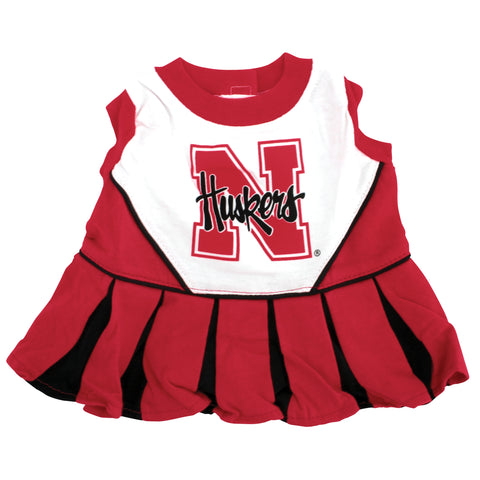 Doggie Husker Cheerleader Outfit