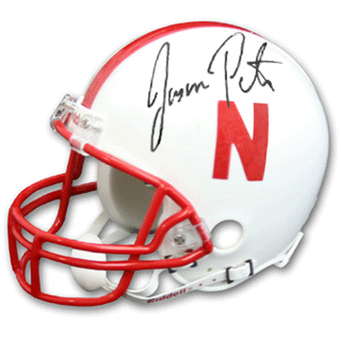 Autographed Jason Peter Mini Helmet