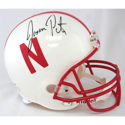 Autographed Jason Peter Authentic Full Size Helmet