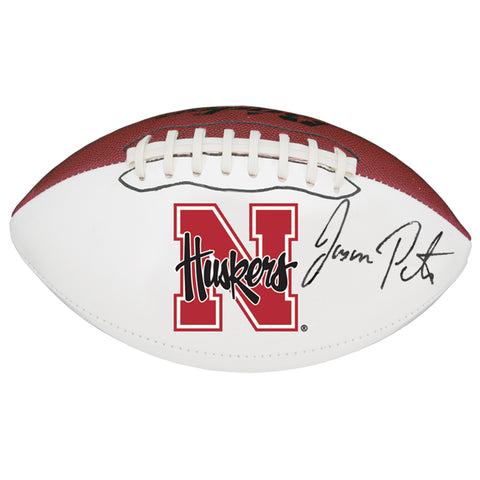 Autographed Jason Peter Full Size Football