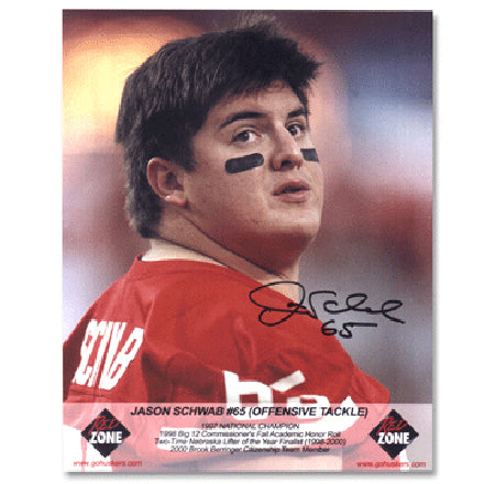 Autographed Jason Schwab Photo