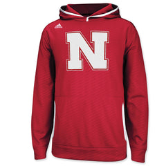 University of Nebraska Huskers Players Hood by Adidas