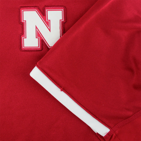 Shop Huskers Climate 1/4 Zip Polo- Adidas