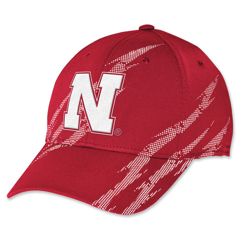 Nebraska Huskers Football Aftershock Hat by Adidas