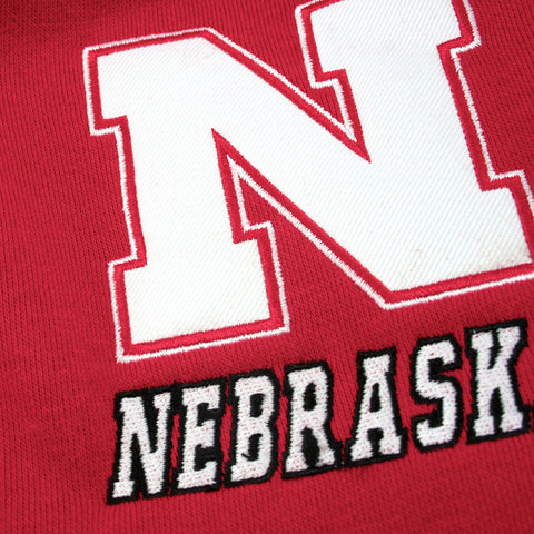 Nebraska Huskers Embroidered Tackle Twill Fleece Logos