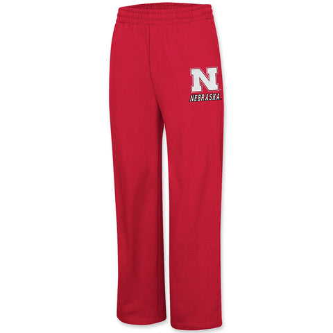 Nebraska Huskers Mens Fleece Sweatpants