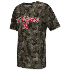 University of Nebraska Youth Apparel Digital Camo T-Shirt